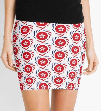 I Heart Hong Kong Patriot Flag Series Mini Skirt