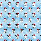 Snowman winter by Sancreoto