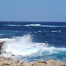Menorca waves by Susan Harley