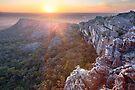 Flat Rock, Mt Stapylton, Grampians, Victoria, Australia by Michael Boniwell