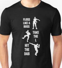 Floss Dab Take the L Fortnite Dance Unisex T-Shirt