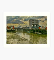 London from the Thames Art Print