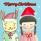 Christmas friendship  by shashira