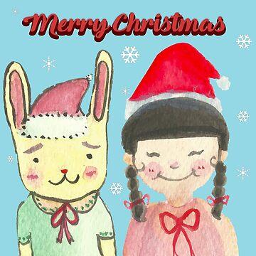 Christmas friendship  by shashira