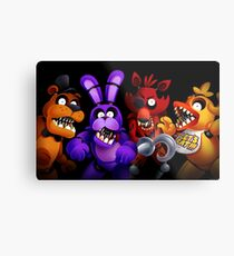 WELCOME TO FREDDY'S Metal Print