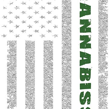 Cannabis Flag Tshirt. by zulfiqor