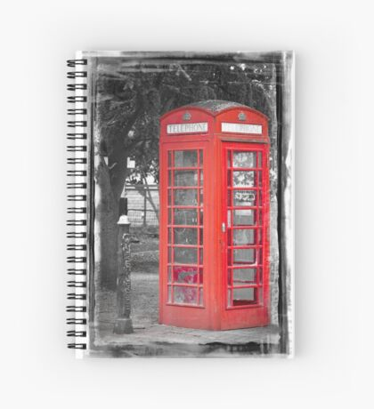 Heritage Trail No1: Red Telephone Box Spiral Notebook