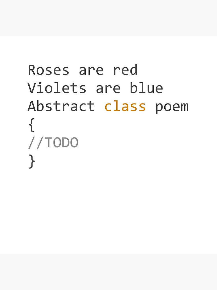 Roses Are Red Violets Are Blue Abstract Class Poem Tote Bag