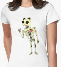 Friendless Womens Fitted T-Shirt