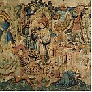 Hunting Flemish Tapestries | Painting Art by CarlosV