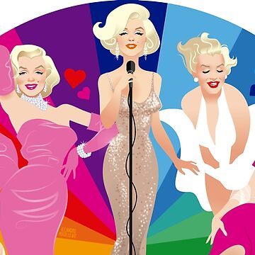 Marilyn fan by AleMogolloArt