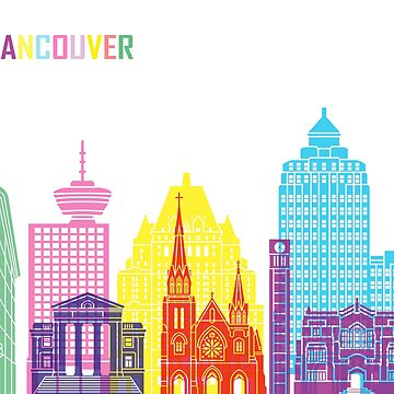 Vancouver V2 skyline pop  by paulrommer