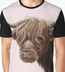 highland cattle portrait  Graphic T-Shirt
