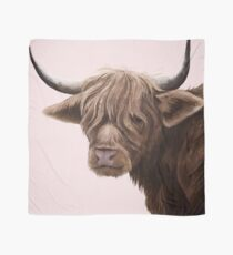 highland cattle portrait  Scarf
