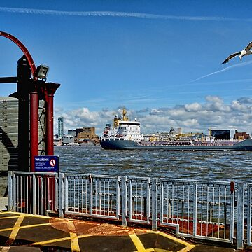 The River Mersey by Retiree