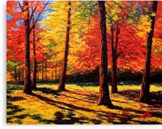 Maple Trees Park by sesillie
