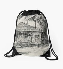 Cottage Drawstring Bag