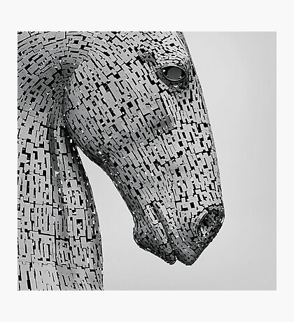 The Kelpies Sculpture in Falkirk Scotland Photographic Print