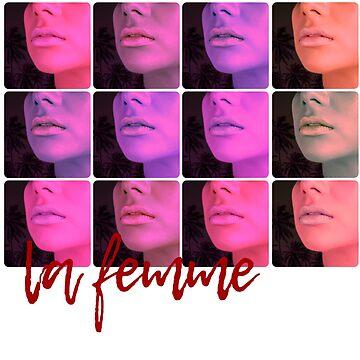 LA FEMME PEACHY TEE by VintageEmpire