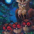 Owls' Night by August