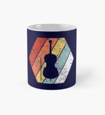 Vintage Cello Shirt Funny Cello Retro 80s Style Mug