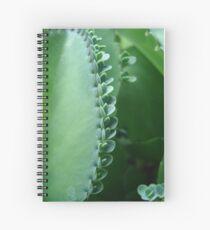 Butterfly Succulent Spiral Notebook