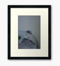 Circular Framed Print