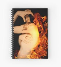Find Me In The Fire Spiral Notebook