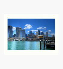 Darling Harbour, Sydney Art Print