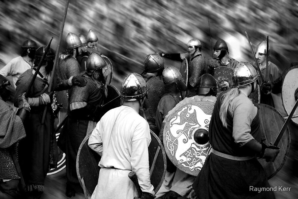 """Viking Battle""  by Raymond Kerr"