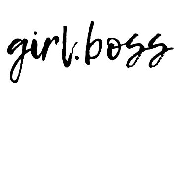 GIRL.BOSS TEES by VintageEmpire