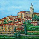 Colours of Crillon-le-Brave, Provence by LisaLorenz