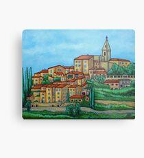 Farben von Crillon-le-Brave, Provence Metallbild
