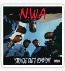 Pegatina NWA Straight Outta Compton