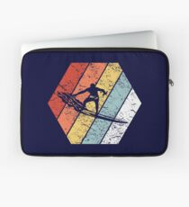 Vintage Surfer Shirt Funny Surfing Retro 80s Style Laptop Sleeve