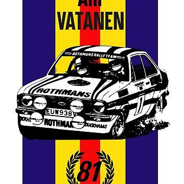 Vatanen 1981 World champion by purpletwinturbo