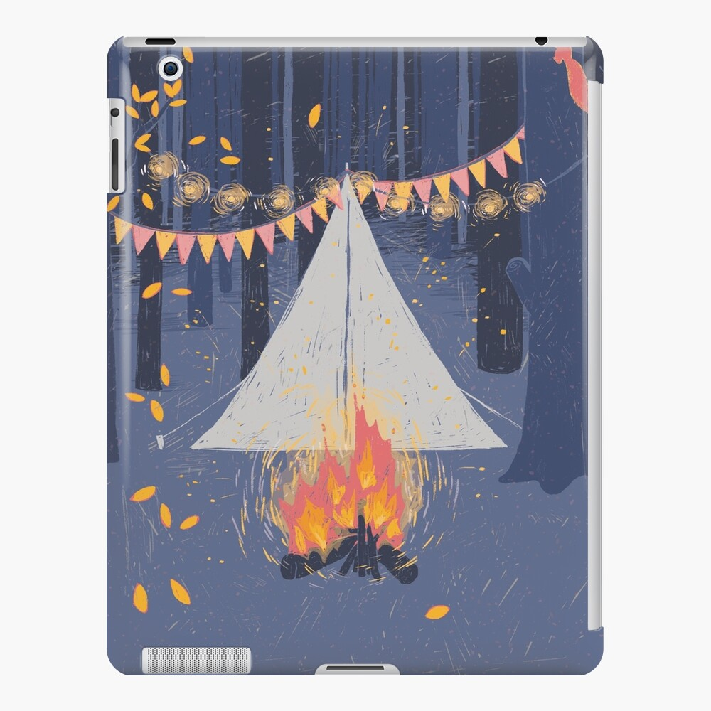 Camp iPad Case & Skin