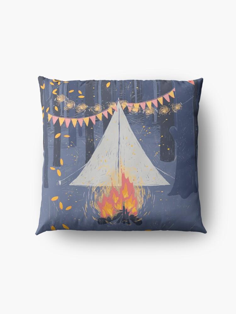 Alternate view of Camp Floor Pillow