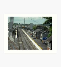 Tullamore Railway Station Art Print