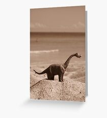 Mathilda the Dinosaur Greeting Card