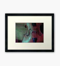 On Stage - Qoo-ij Orium Framed Print
