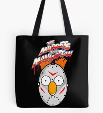 muppets beaker mashup friday the 13th Tote Bag