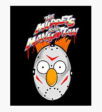 muppets beaker mashup friday the 13th Photographic Print