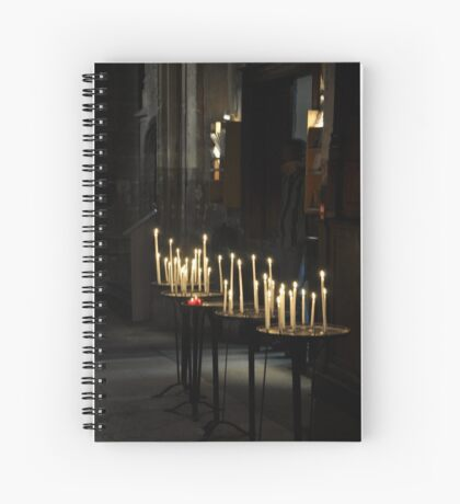 light for our loved one's Spiral Notebook