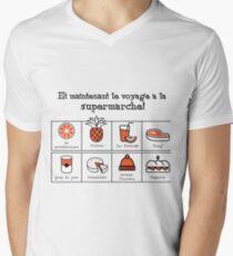 A trip to the supermarket (Foux du fafa!) V-Neck T-Shirt