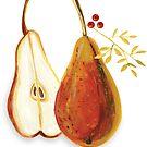 Pears by Lucinda Kidney