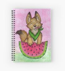Melon Coyote - A Summertime Treat! Spiral Notebook