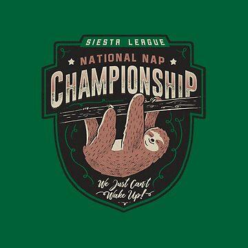 National Nap Championship by tobiasfonseca