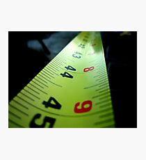 Measuring Tape Photographic Print