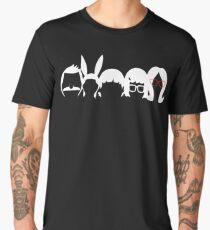 Bobs Burgers Family | Silhouette   Men's Premium T-Shirt